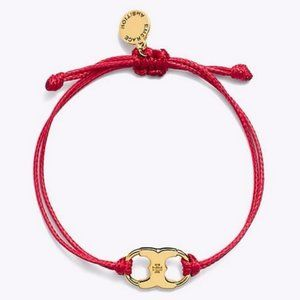 TORY BURCH Multi-color braided rope BRACELET